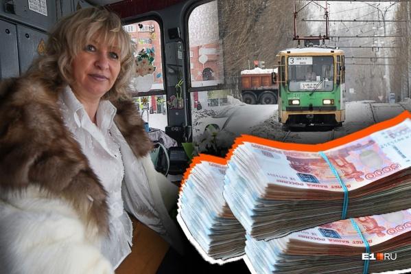 После рекордного лотерейного выигрыша в полмиллиарда рублей Оксана Мирошниченко продолжает водить трамвай. Мы узнали почему