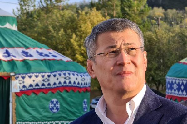 Глава Башкирии переживает из-а высокой заболеваемости
