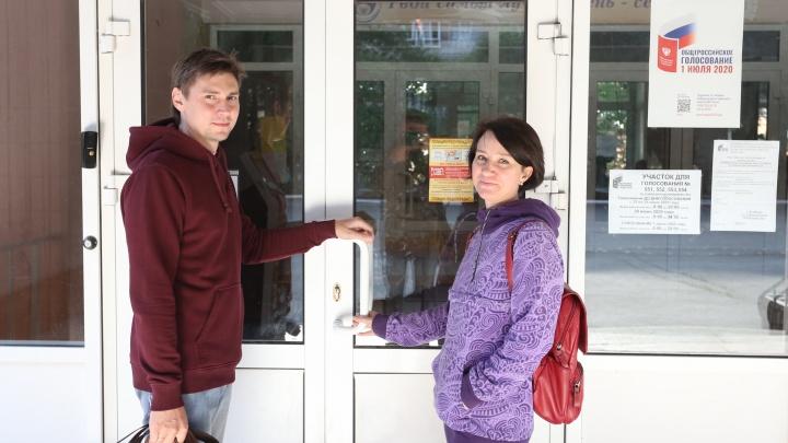 Как голосовали в Челябинске: фоторепортаж с избирательных участков