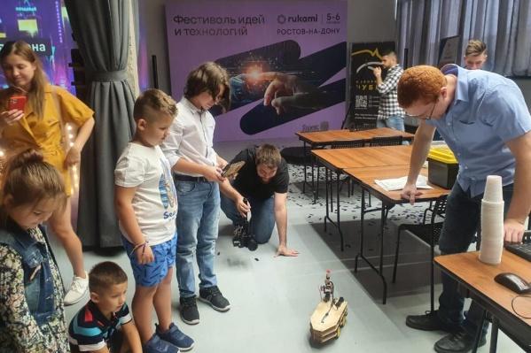 Юных участников приобщили к чудесам науки