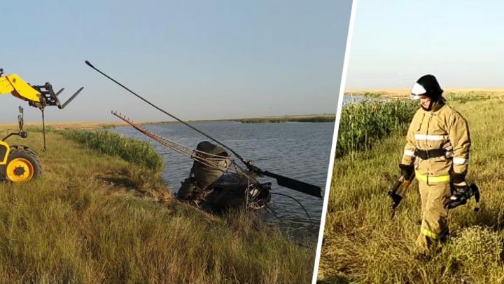 Расследовать крушение вертолета Ми-2 в Ростове будет комиссия МАК