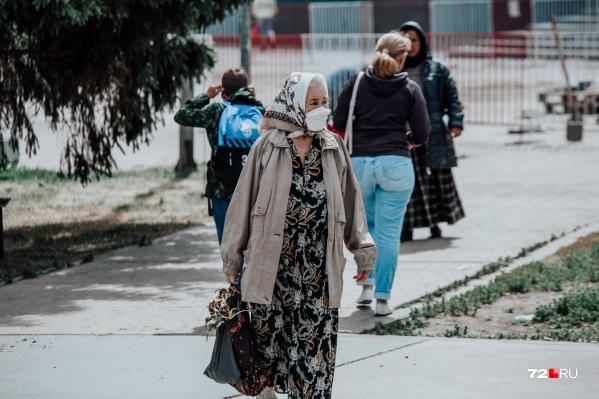 В Тюмени продолжается масочный режим и режим повышенной готовности