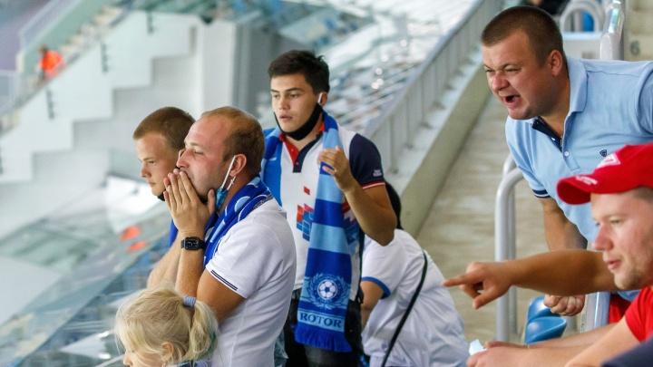 «Ротор» проиграл «Спартаку» на «Волгоград Арене» — 0:1