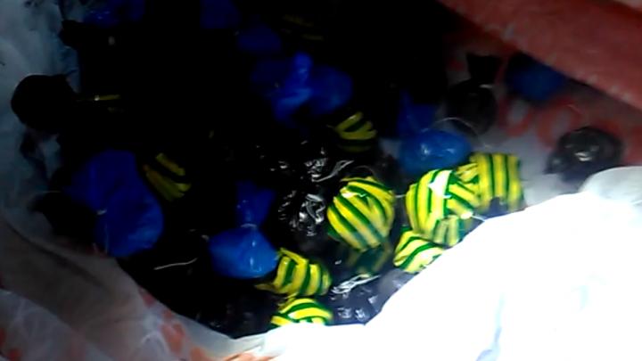 В Кстове полиция нашла в иномарке пять килограммов амфетамина и неизвестного наркотика
