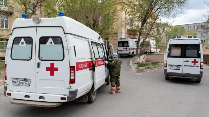 В Волгоградской области 313 человек заразились коронавирусом