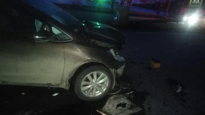 Две девочки 9 и 4 лет пострадали в ДТП с KIA Cerato в Башкирии