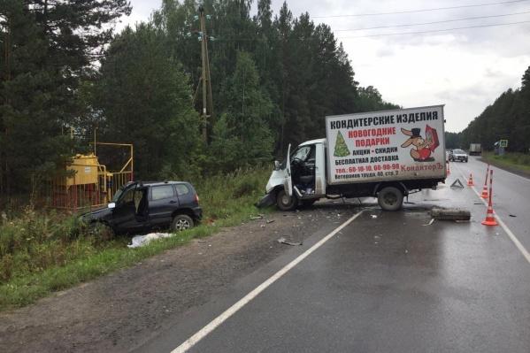 Авария со смертельным исходом произошла около полудня во вторник, 25 августа