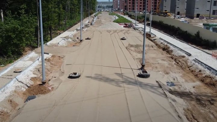 Московское и Красноглинское шоссе соединили новой дорогой