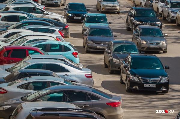 В Ростове пока нет ни одной карусельной парковки