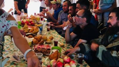 В Башкирии защитники Куштау продолжают собирать пожертвования