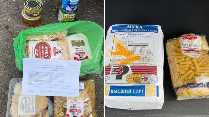 После скандала с сухими пайками родителям выдали недостающие продукты