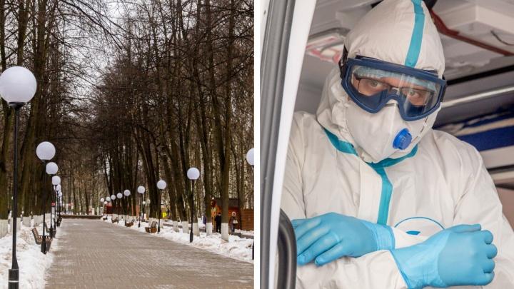 Смерть от коронавируса и магазины вместо парков: что случилось в Ярославской области за сутки
