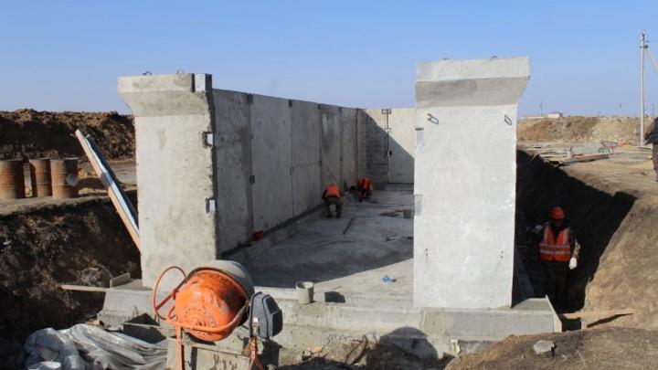 В сёлах Курганской области строят газовые сети и водопровод