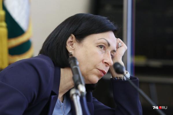 Наталья Котова продолжает работать дистанционно