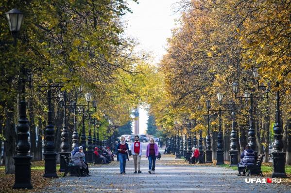 Осенью Черниковка особенно красива