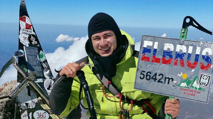 Безногий альпинист Рустам Набиев войдет в российскую Книгу рекордов Гиннесса