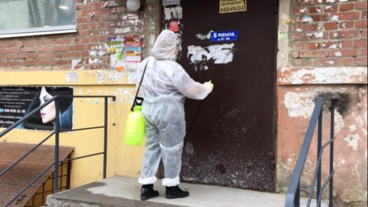 Компания Алексея Самкаева будет проводить дезинфекцию подъездов в Заводоуковске и Ялуторовске