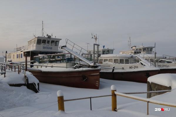 Позже всего навигацию закроют в Архангельске, Северодвинске, Новодвинске, а также в Онежском и Приморском районах