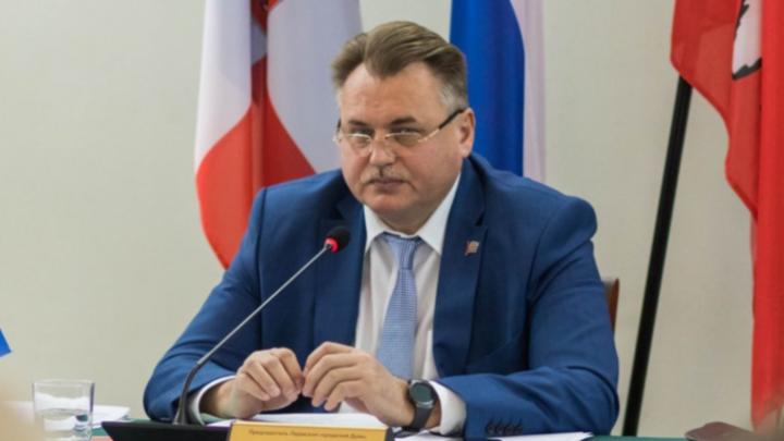 Скандал в Пермской гордуме: депутаты отправляют в отставку председателя Юрия Уткина