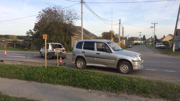 Пьяный водитель выехал на встречную и спровоцировал массовое ДТП в Заводоуковске