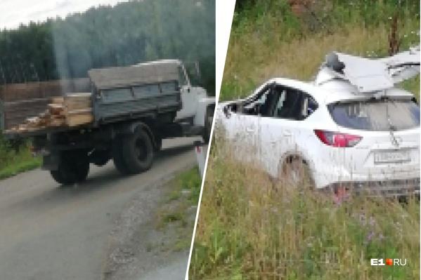 Водитель Mazda погиб на месте