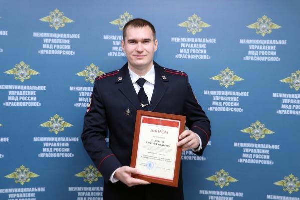 Алексей работает участковым с 2016 года