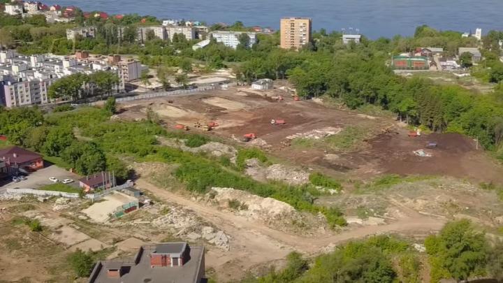 Наметился котлован: самарский видеоблогер показал, как строят новую школу на Пятой просеке