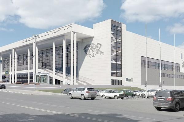 Новый ледовый дворец будет больше своего предшественника