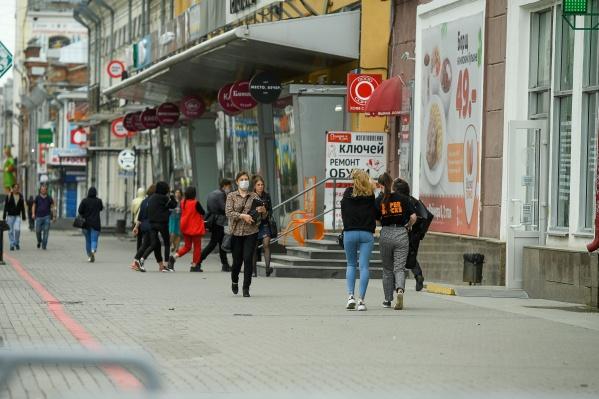 В Екатеринбурге многие не соблюдают масочный режим