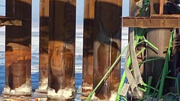 По факту гибели рабочих при строительстве моста у Климовки возбудили уголовное дело
