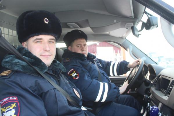 Евгений Ильченко и Роман Шабалин, которые спасли косулю