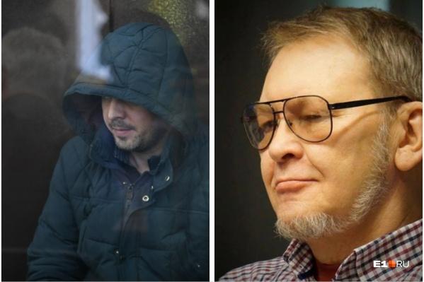 Егору Трошину грозит 15 лет за избиение архитектора Александра Кротова (на фото справа)
