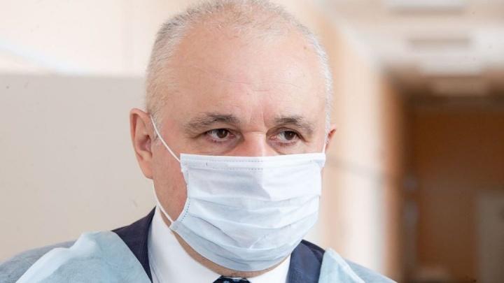 «Ты слышишь мой вопрос?!»: Цивилев сорвался на заместителя из-за ситуации с коронавирусом