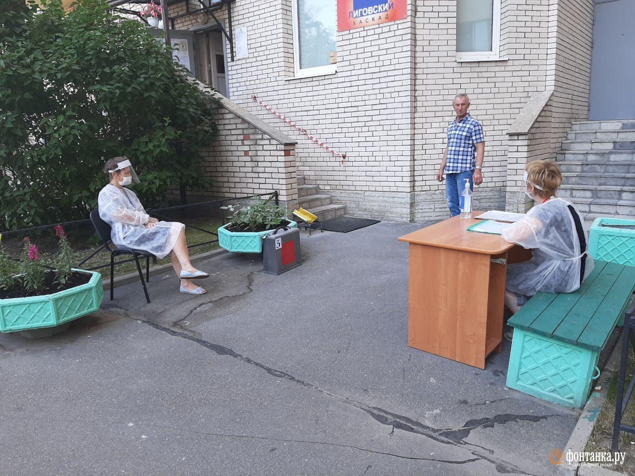 УИК 1160<br><br>Автор фото Ирина Корбат / «Фонтанка.ру»<br>