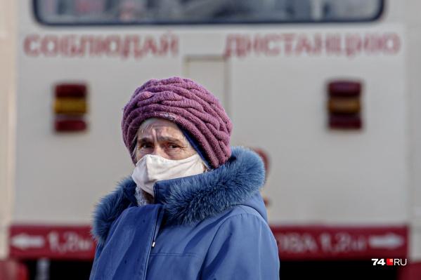 Даже надпись на трамвае в разгар пандемии приобрела новый смысл