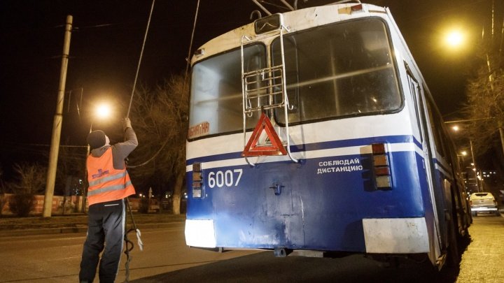 Астраханцы пожелали волгоградцам добиться в новом году возвращения троллейбуса №18
