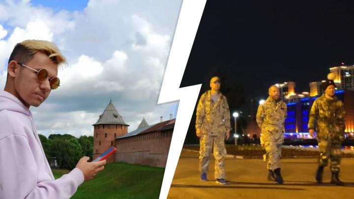 «Хватит до нас докапываться, следите за собой!»: студент УрФУ ответил казакам, задержавшим его из-за внешнего вида