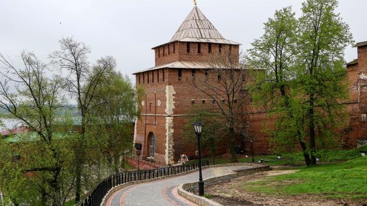 Нижегородский кремль отреставрируют за 414 млн рублей