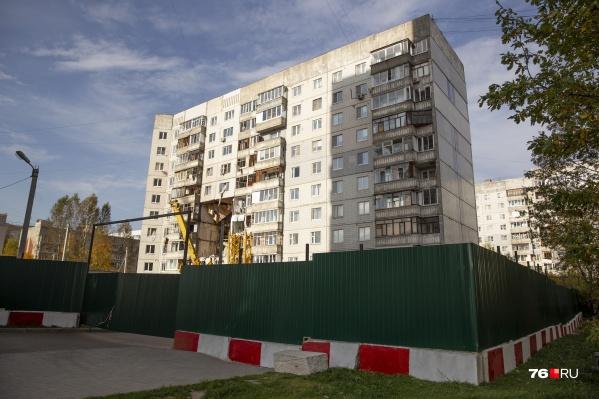 Решение о признании дома в Ярославле, где взорвался газ, аварийным принято 29 октября