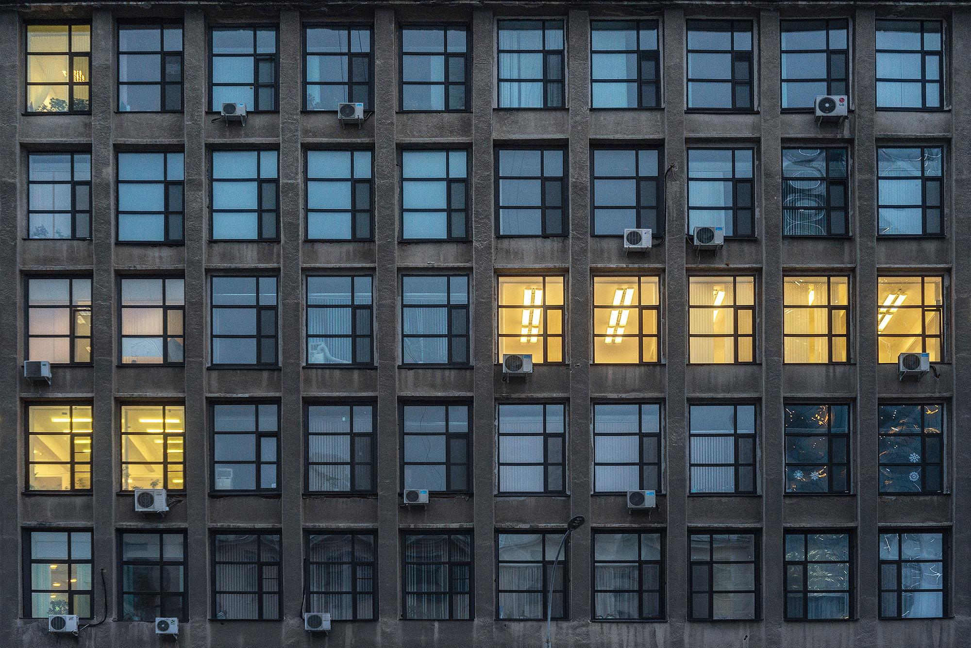 Окна Дома промышленности