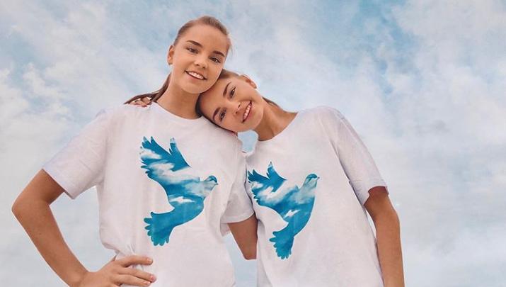 Сёстры Аверины заняли первые места на уникальном онлайн-турнире по художественной гимнастике