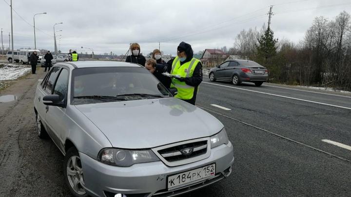 На границах Ярославской области остановили три тысячи машин: как проходит стоп-контроль