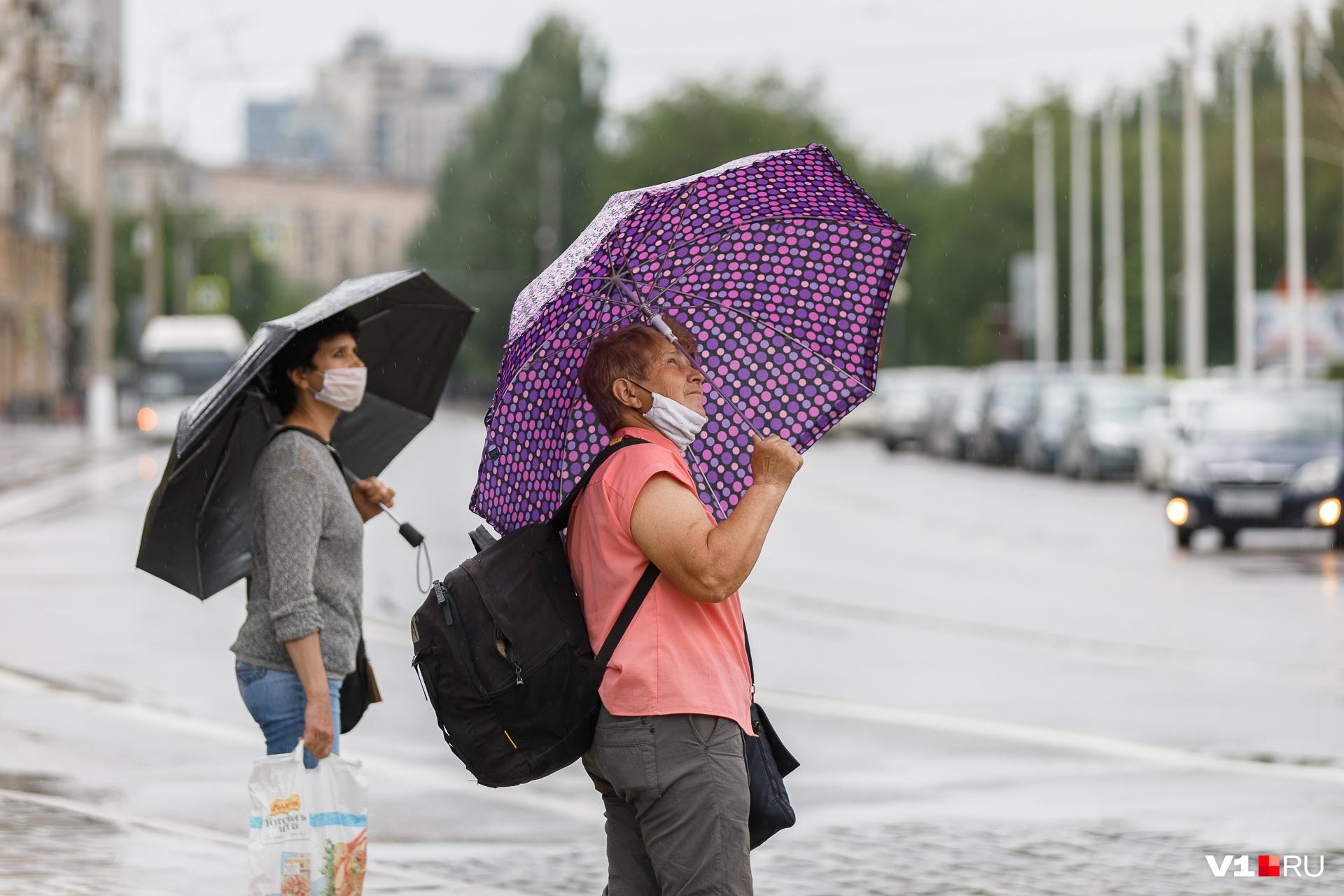 Обязательный набор на ближайшие дни — перчатки, маска и зонт