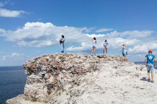 Нацпарк ежегодно привлекает десятки туристов