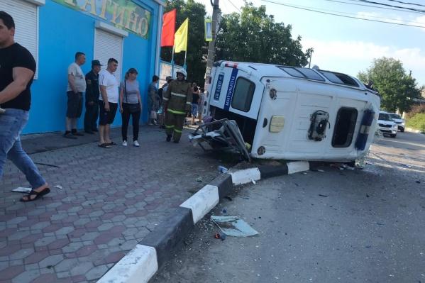 Информации о пострадавших в «Газели» нет