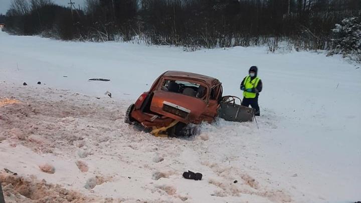 «Может не выжить»: утром под Ярославлем разбились две машины. Пострадал ребенок
