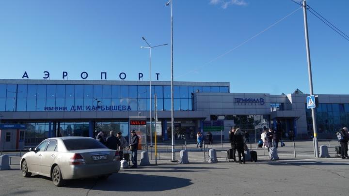 Омский аэропорт на месяц отменил заграничные рейсы из-за коронавируса