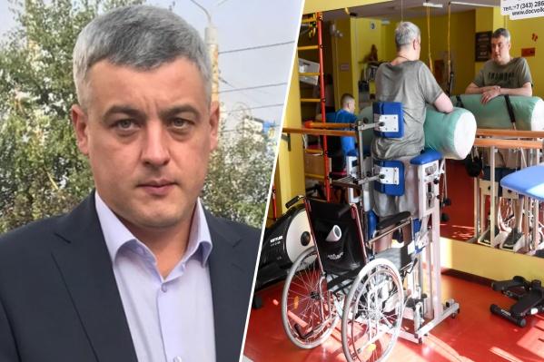 Иван Смирнов до инсульта и после
