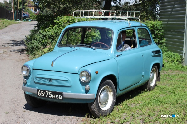 Так выглядит ЗАЗ-965. Видели когда-нибудь подобный на улицах Новосибирска?