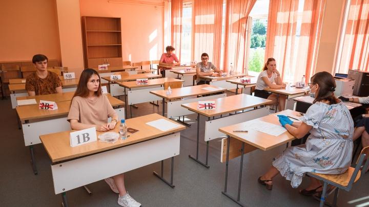 Как кузбасские школьники сдавали ЕГЭ в коронавирусную эпоху: большой фоторепортаж